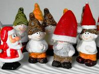 Unsere Mitarbeiter und Helfer des Monats Dezember: putzige Weihnachtsgesellen
